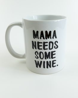 Tasse Mama needs some wine von Formart